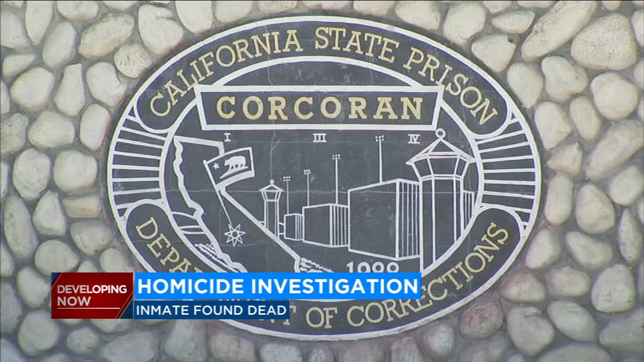 A homicide investigation is underway inside the California State Prison in Corcoran after an inmate was found dead in his cell.