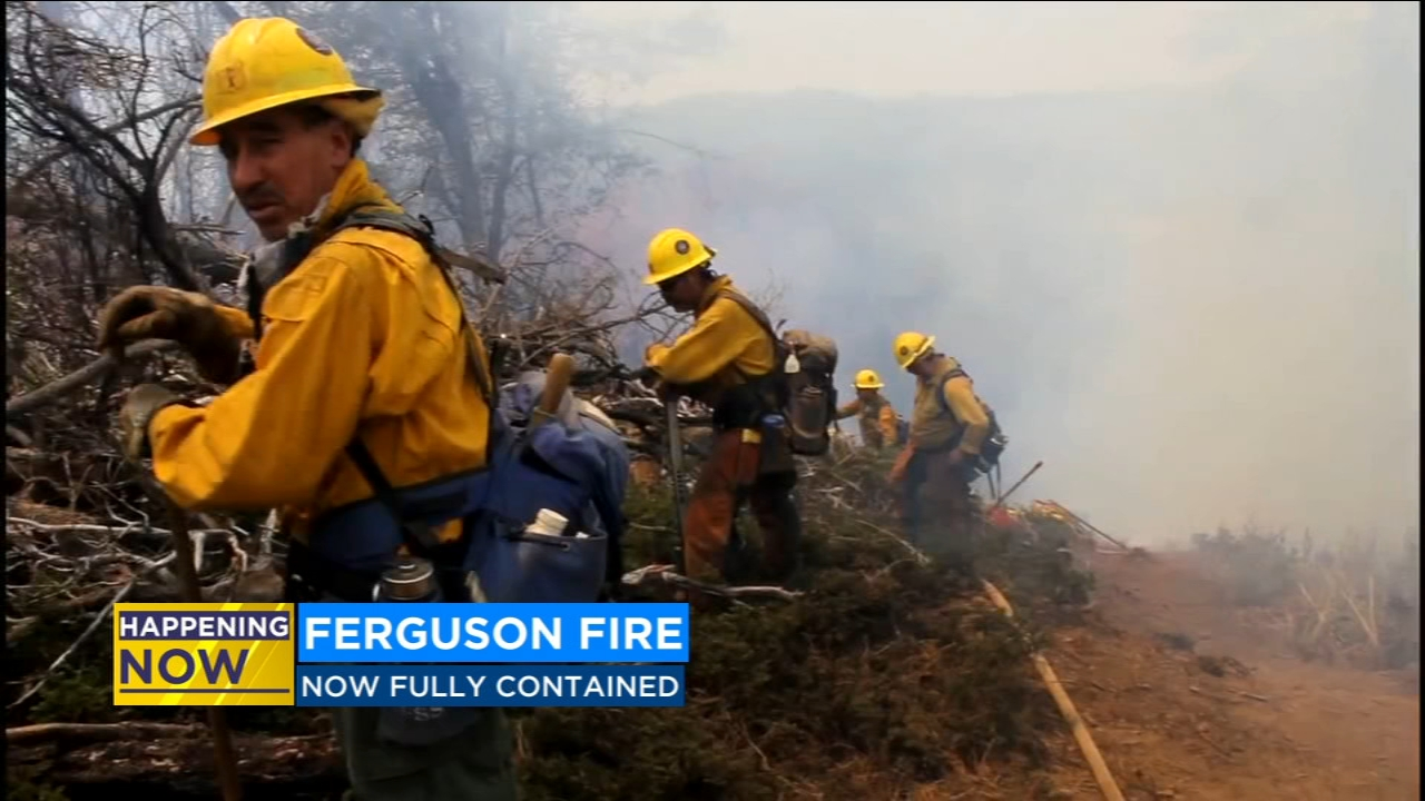Firefighters announced a major update from the Ferguson Fire early Sunday morning.