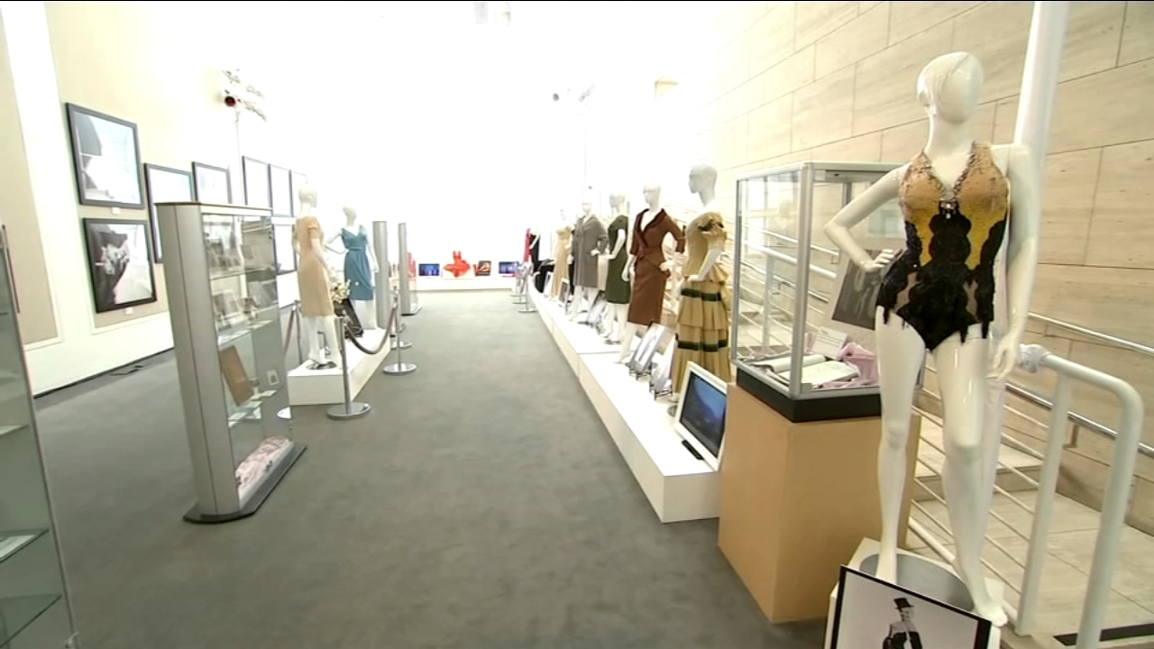 Several dresses that belonged to Marilyn Monroe are going on display then going on auction.