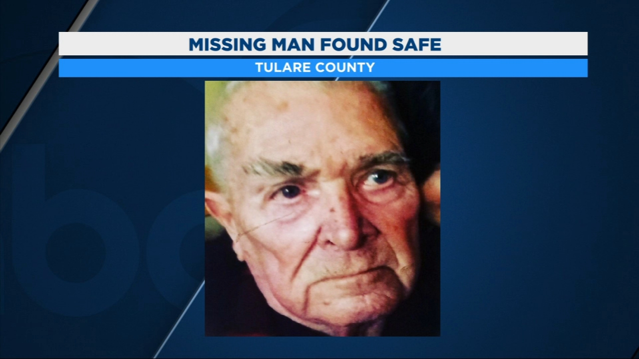 The Tulare County Sheriffs office announced it has found 83-year-old George Simms.