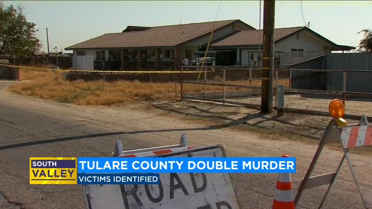 The Tulare County Coroner says they are 83-year-old George Mendonca and 81-year-old Juanita Mendonca.