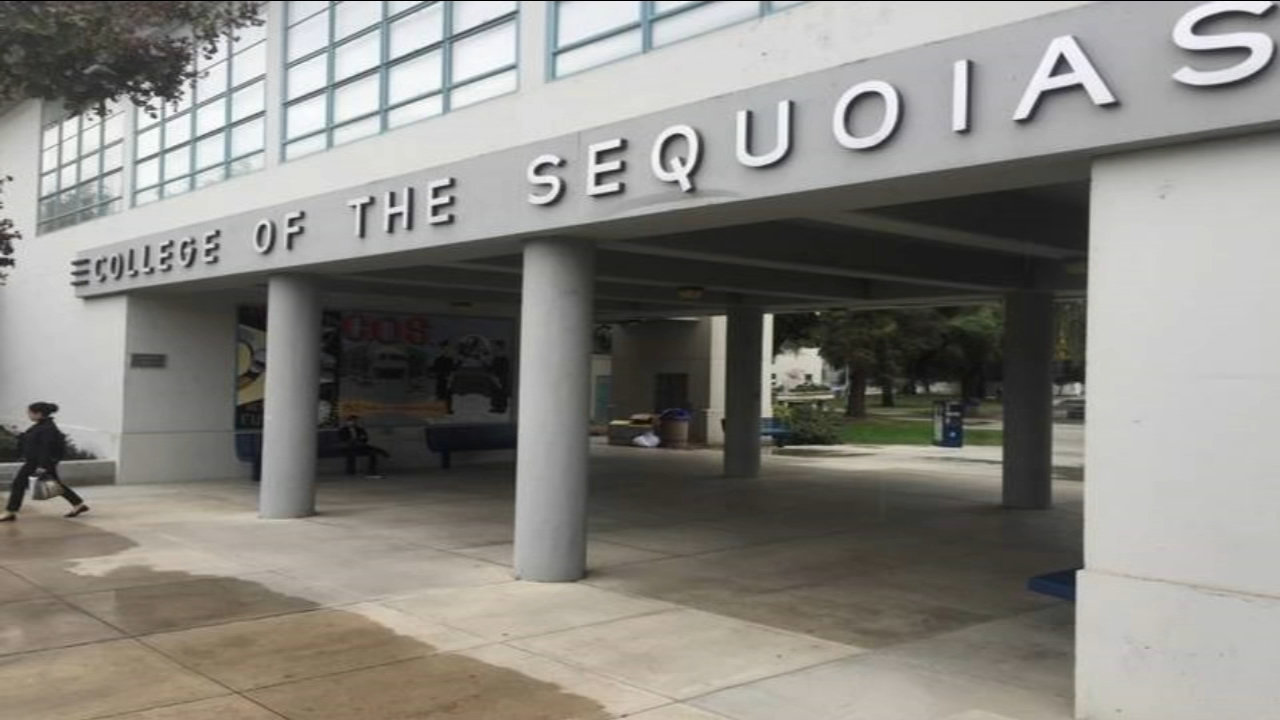 Police at the College of the Sequoias are investigating several fires that broke out on campus.