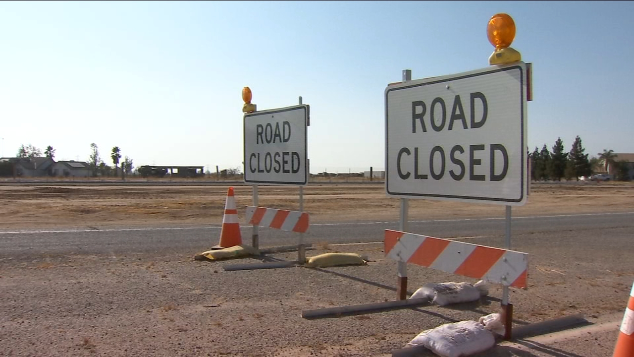 Many residents in Madera Acres say high-speed rail construction is causing them major headaches on the road.