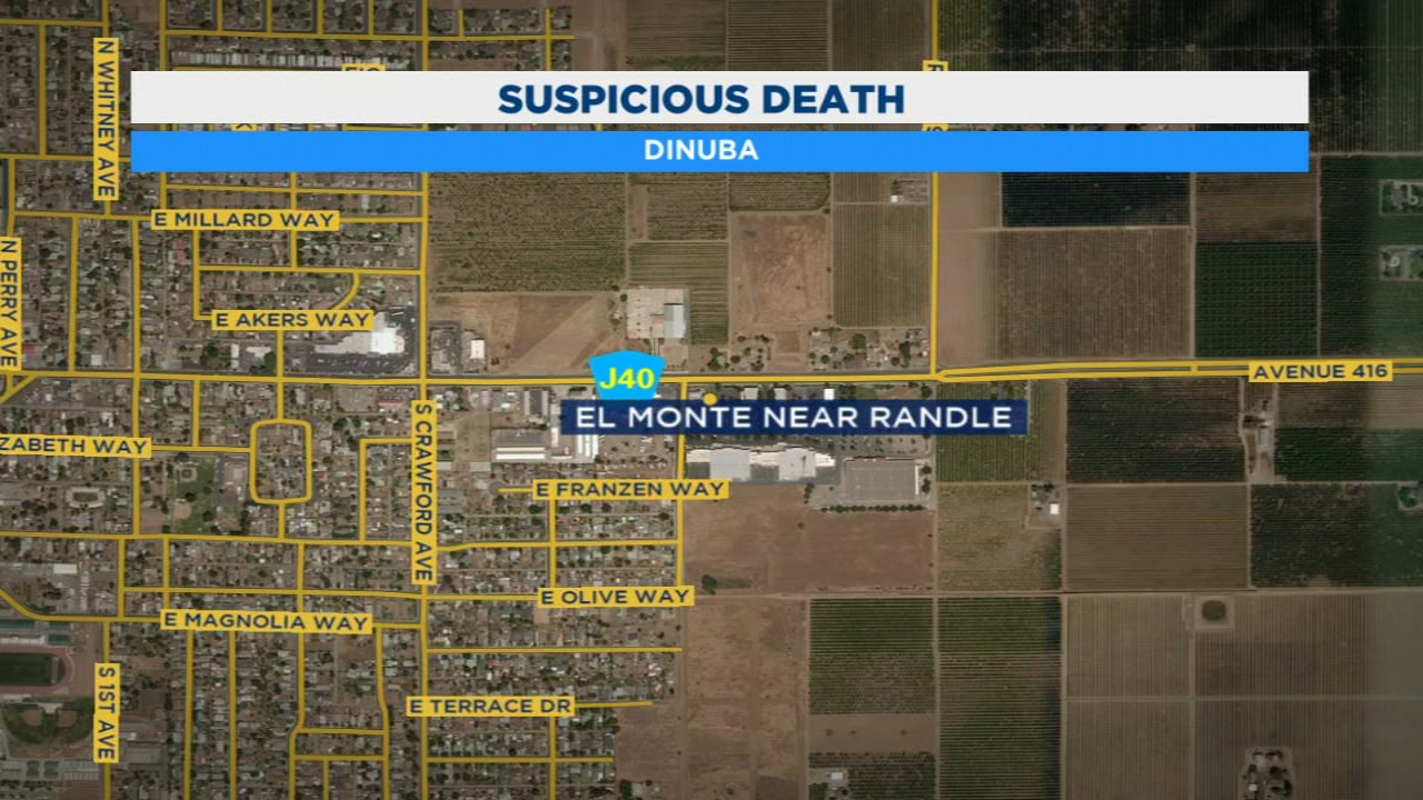 Dinuba police are investigating a suspicious death.