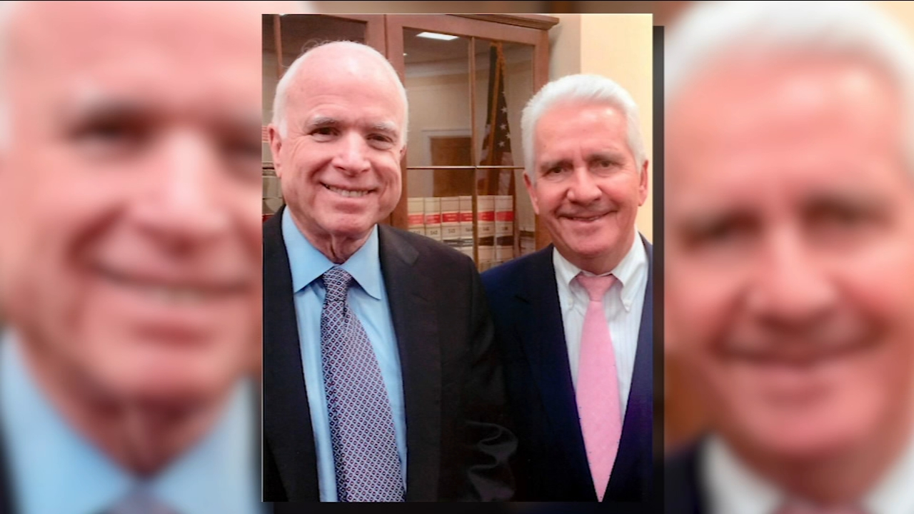 Saturday night political parties in the Central Valley held to honor and remember Senator John McCain.