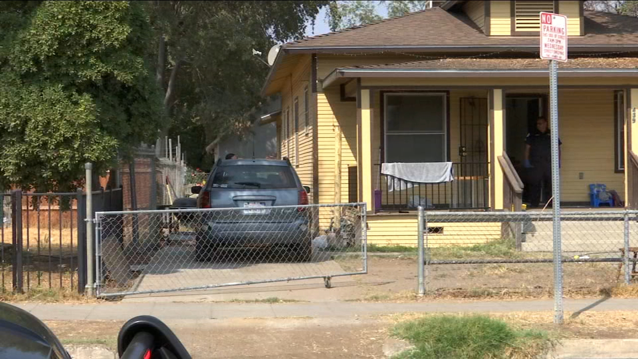A fight between two men ended in a violent attack at a home near Belmont and Glenn.