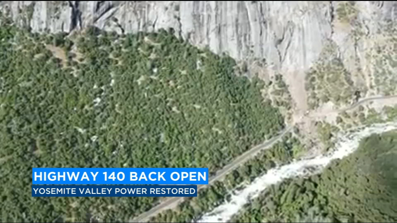 Some good news for people traveling inside of Yosemite National Park.