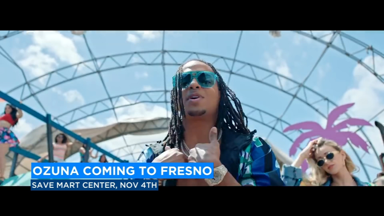 Puerto Rican singer Ozuna just announced dates for his upcoming U.S. tour and he is stopping in Fresno.