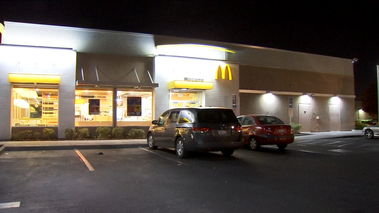 Police are searching for the man who robbed a Southeast Fresno McDonalds.