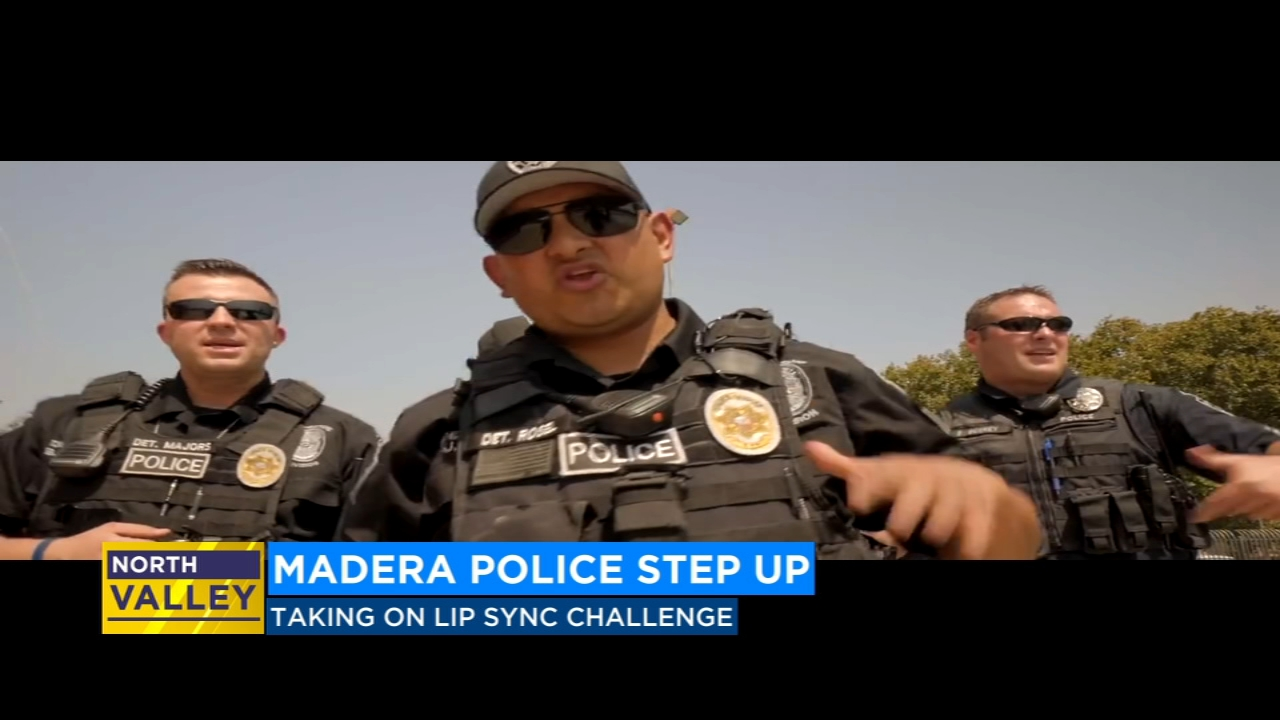 The Madera Police Department is stepping up to the plate and taking on the Lip Sync Challenge.