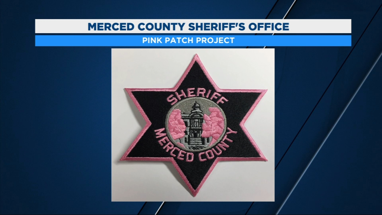 The Merced County Sheriffs Office is selling pink shoulder patches with proceeds going to the Merced Cancer Society Foundation.