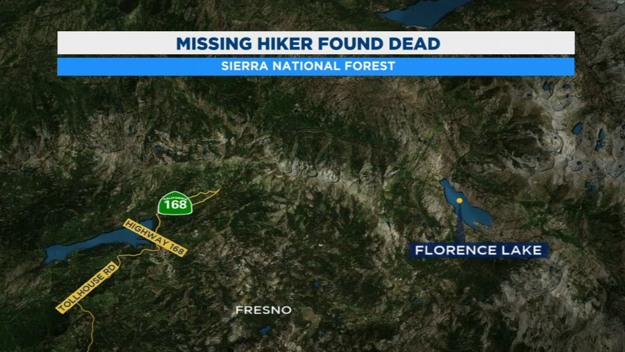 A team of Fresno County Sheriffs deputies are trying to recover the body of a hiker who apparently fell off a cliff on the High Sierra Mountain Trail.