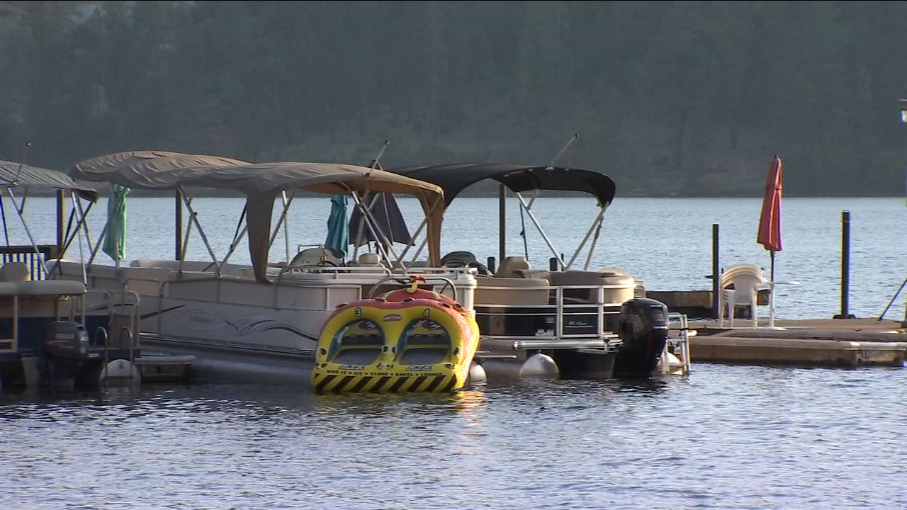 The Madera County Sheriffs Office says they received a 911 call that a 32-year-old man and a 7-year-old needed medical attention after being hit by a boat.