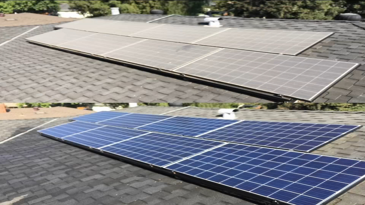 For Valley homes equipped with solar panels, experts say its crucial to regularly clear off all that Valley dust.