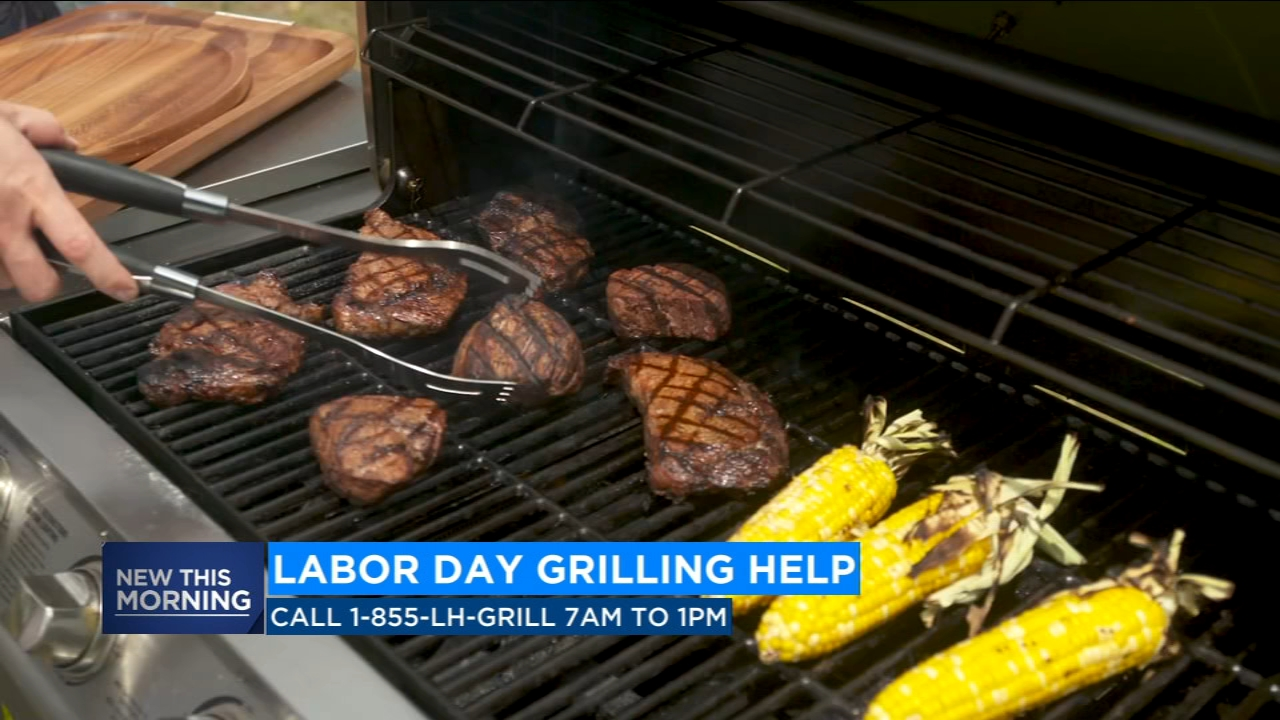 Many of us will be out barbecuing for Labor Day-- one of the nations busiest grilling holidays.