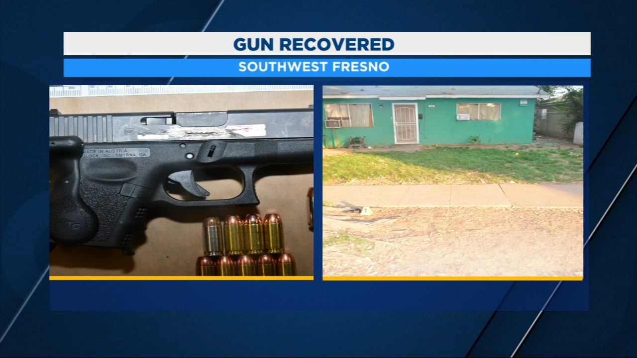 Residents in one part of Southwest Fresno feel a little safer after officers took a handgun off the streets after responding to calls of a drive-by shooting.