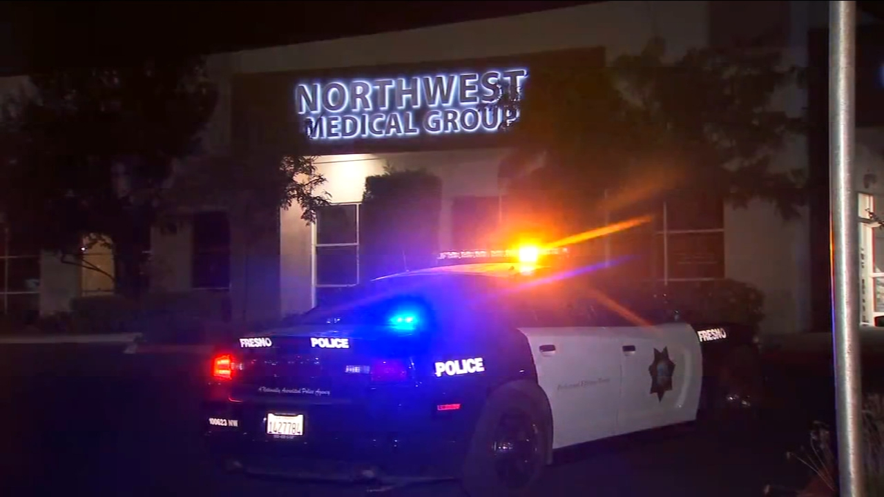 Early Thursday morning Fresno Police responded to a burglary alarm at a pharmacy on Palm Avenue near Pinedale Avenue in Northwest Fresno.