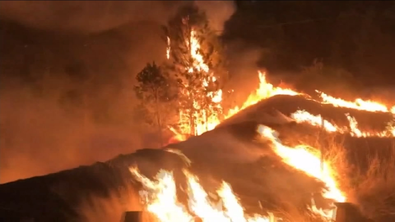 Interstate 5 remains closed in Shasta County because of the fast-moving Delta Fire, burning about ten miles north of Redding.