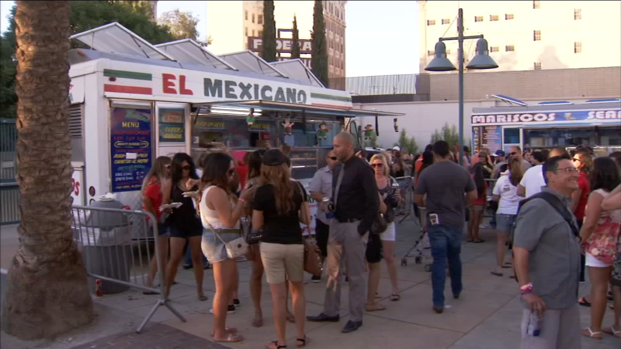 El Mexicano taco truck was involved in a chain-reaction accident in Fresno County on Highway 99 near Clovis Avenue.