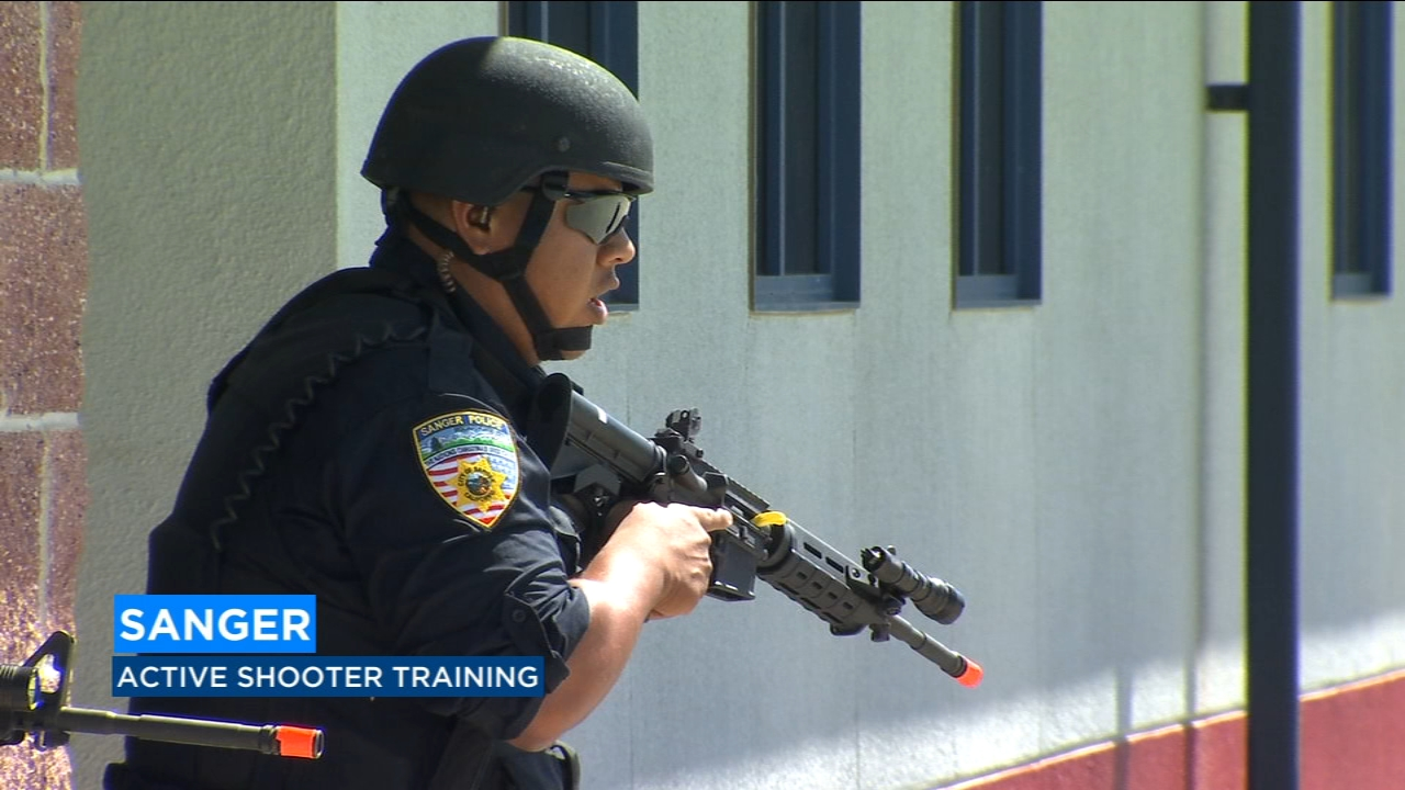 Sanger law enforcement prepare for the worst through active shooter drills