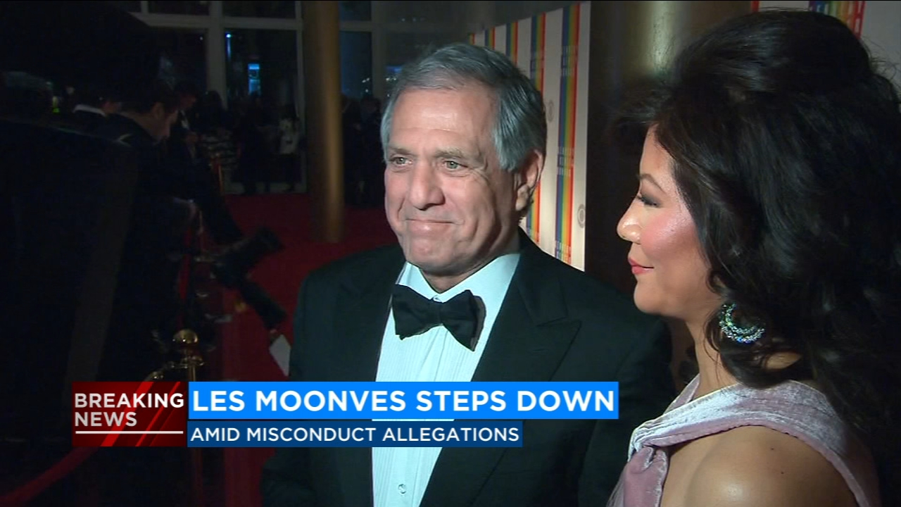 Longtime CBS chief executive Les Moonves is stepping down as he faces a new round of sexual harassment allegations.