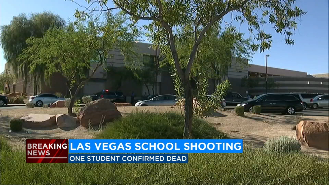 One student has died in a shooting on the Canyon Springs High School campus Tuesday afternoon.