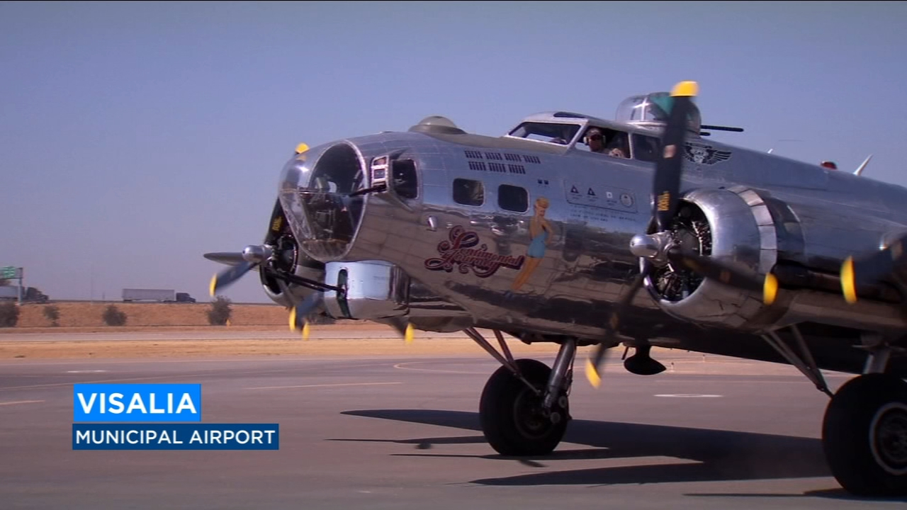 One of the last remaining B-17 bombers still flying will call Visalia home for the next week and you have the chance to fly in it.