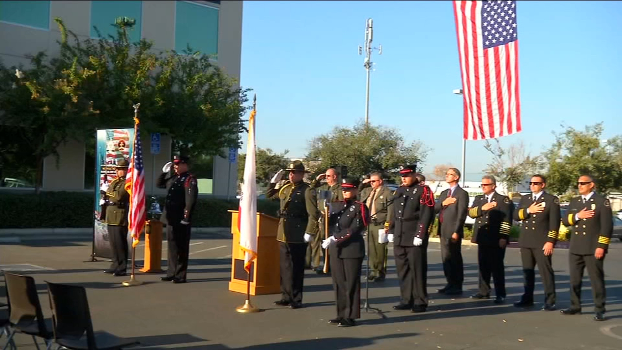 In the South Valley, the Tulare County Sheriffs Office and Fire Department hosted a 9/11 remembrance ceremony at their headquarters.