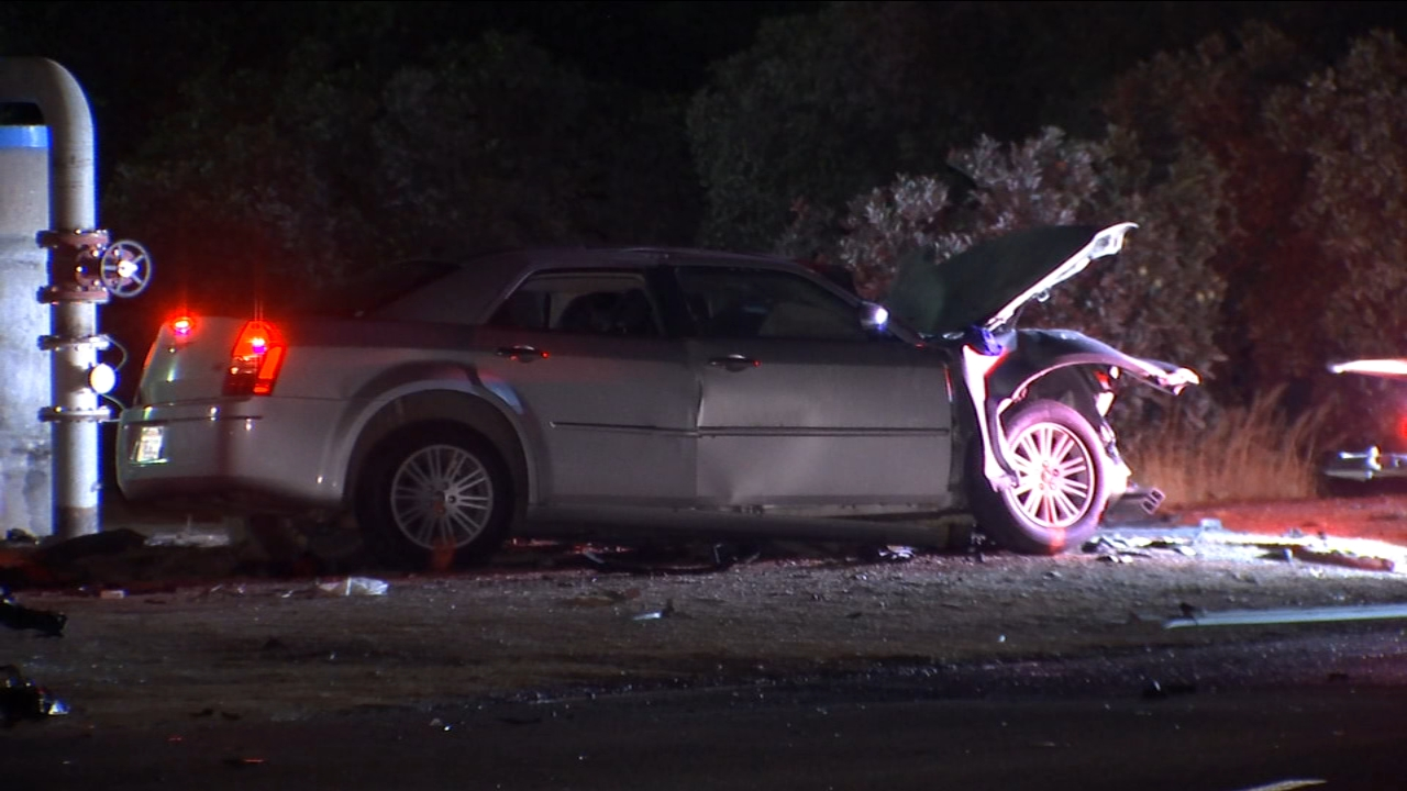 An investigation is underway after a chase and crash took the life of a Tulare County woman and sent a man to the hospital.