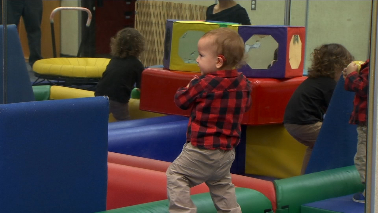 Seventeen-month-old Copper loves to play and his hearing loss cant slow him down. When he was born, his parents learned they would be dealing with a new parenting challenge.