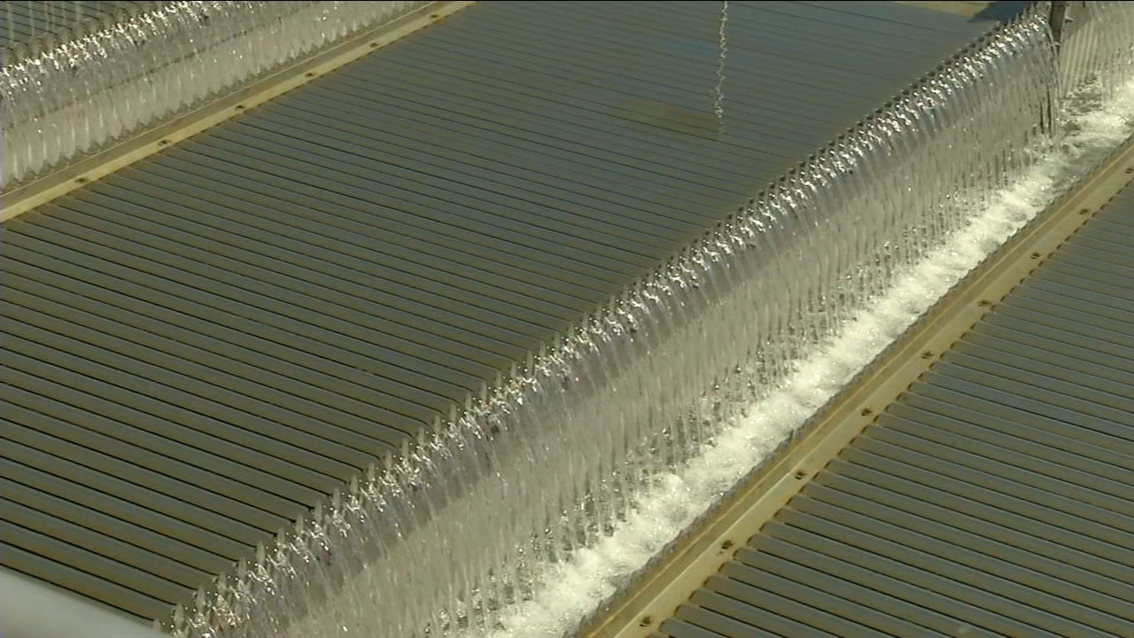 Dedication ceremonies were held for the new Southeast Fresno water treatment plant.