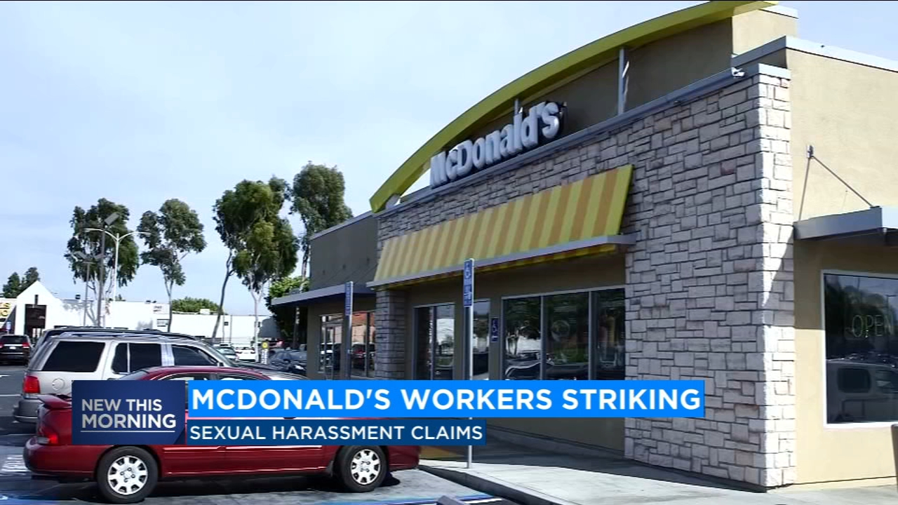 Workers at McDonalds in 10 cities across the country are planning to strike at lunchtime Tuesday.