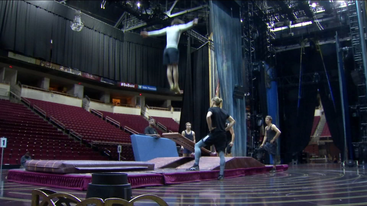 Cirque du Soleil is returning to the Central Valley to tell the story of Corteo.
