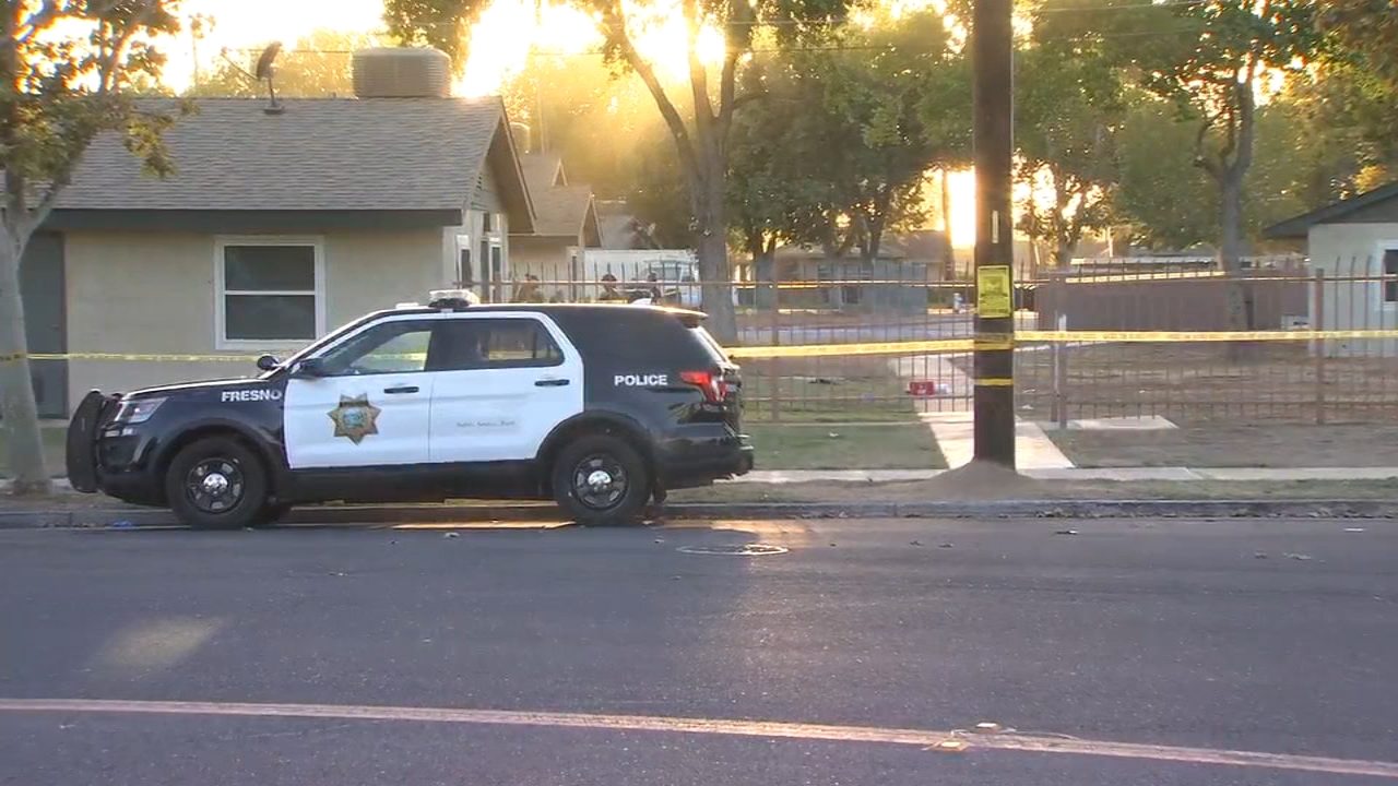 A man was injured in a shooting Wednesday evening in Downtown Fresno.
