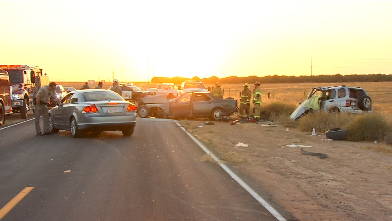 Two people are dead, and two more are critically injured, including a one-year-old child, after an accident in Madera County.