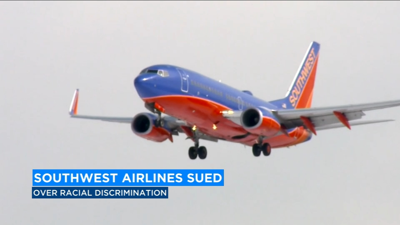 Southwest Airlines is being sued over racial discrimination.