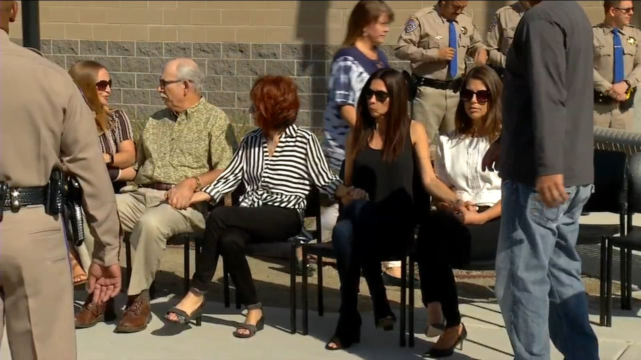 The family of Gavin Gladding, sat together holding hands Friday morning at Highway Patrol headquarters as officers continue to ask for the publics help in finding his killer.