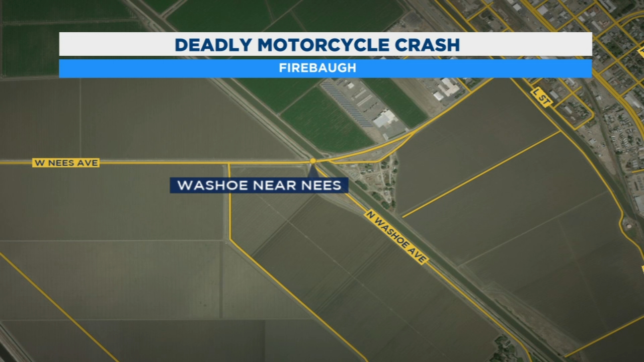 The California Highway Patrol is investigating a crash that killed a motorcyclist in Firebaugh.
