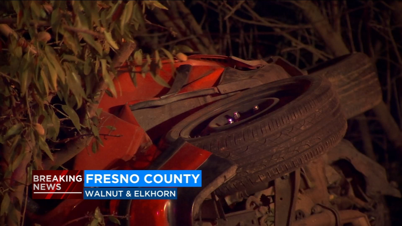 The California Highway Patrol is investigating an accident that killed two people near Walnut and Elkhorn Avenues in Fresno County.