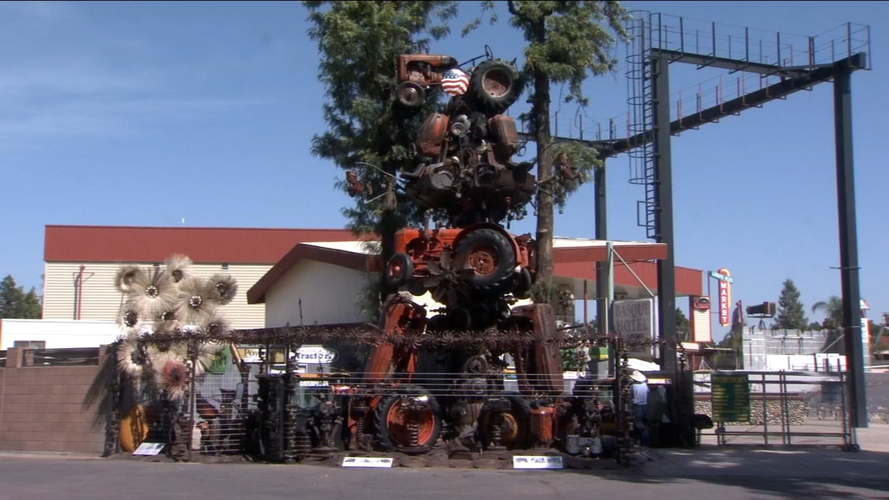 The Big Fresno Fair kicks off next Wednesday with several new attractions including a towering exhibit which helps tell the story of the valleys number-one industry.