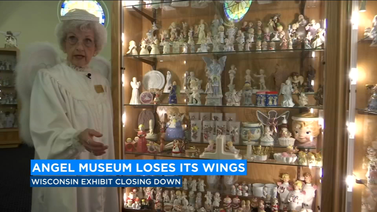 A Wisconsin museum that holds the record for the worlds largest collection of angels is closing its heavenly gates.