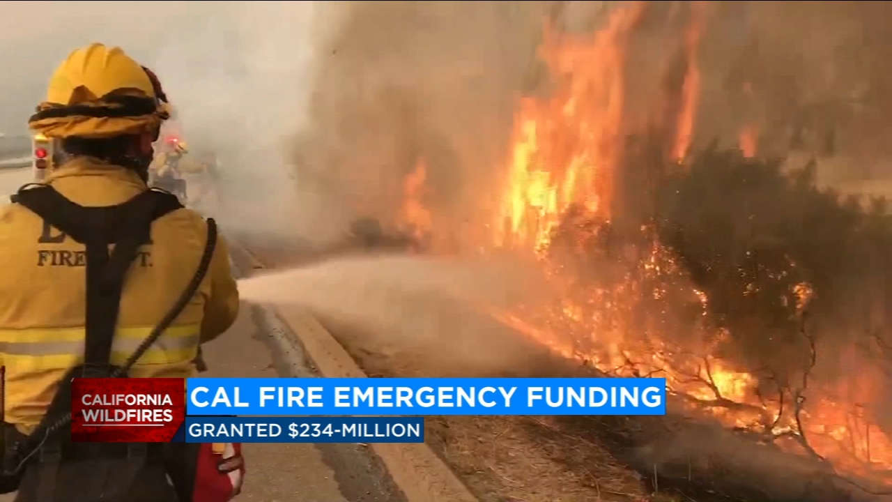 Cal Fire will get immediate help to fight wildfires across the state.