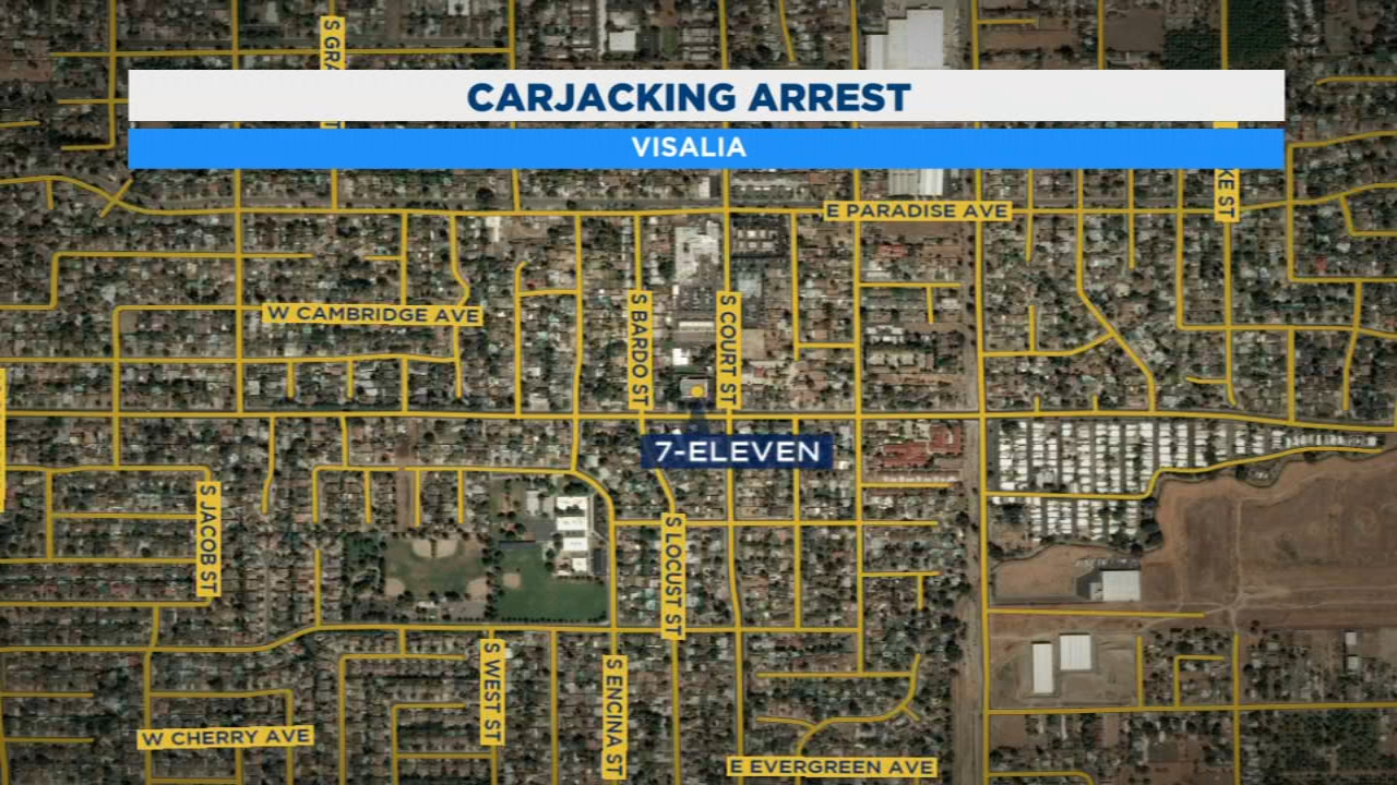 Three teens were arrested and now face charges for carjacking a woman in Visalia.