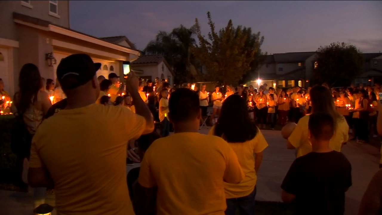 A touching tribute Thursday night...As family and friends remember a Merced teen who died in a tragic car accident over the weekend.