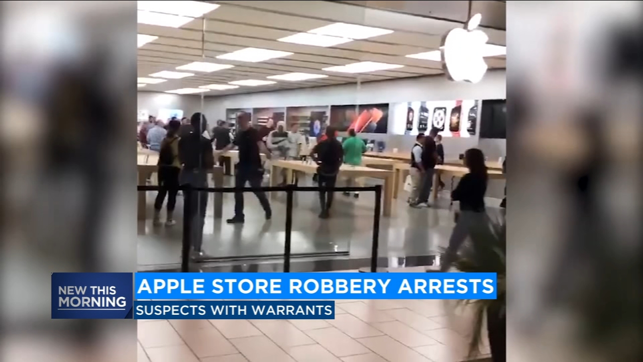 The State Attorney Generals Office is spearheading an investigation that involves the arrest of a handful of people suspected of grab-and-run robberies at Apple stores.