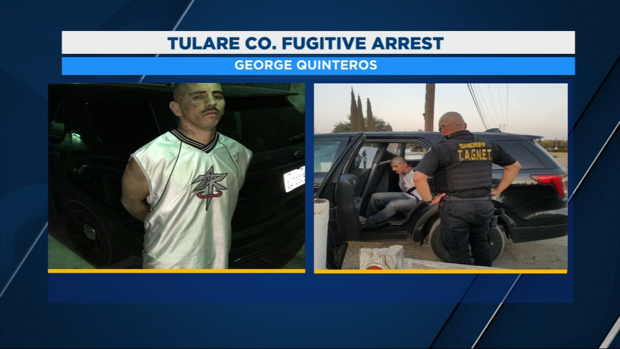 Deputies with the Gang and Narcotics Enforcement Team tracked down George Quinteros to a home on Globe near Bardsley in Tulare Wednesday night.