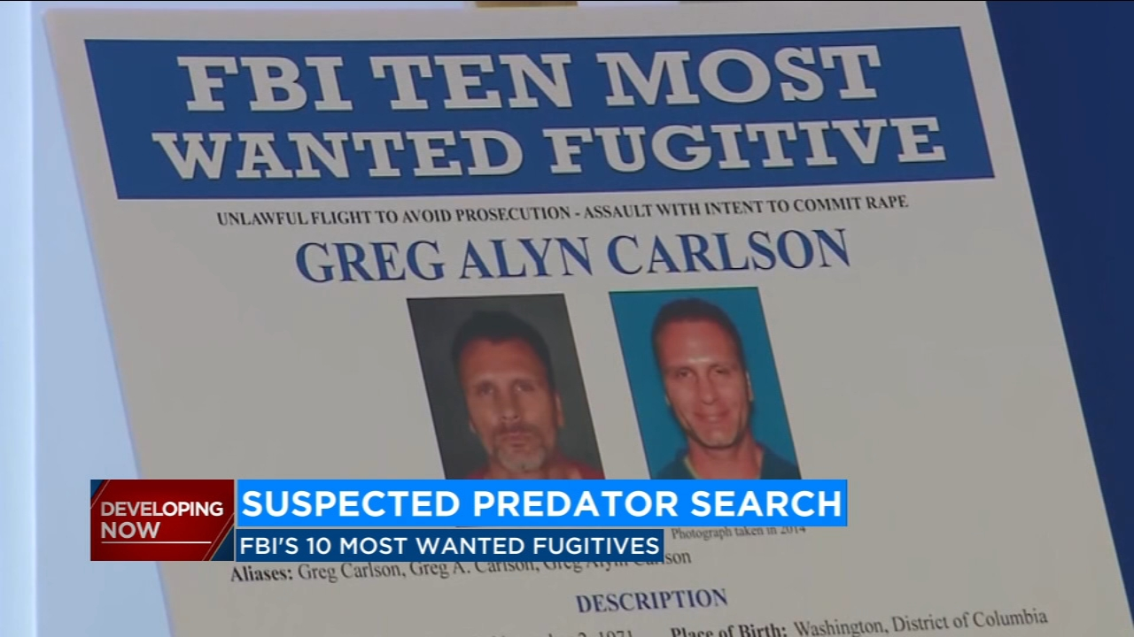 A man suspected in a number of armed sexual assaults has now landed on the FBIs 10 most wanted fugitives list.