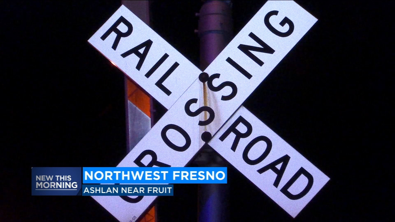 They say a Burlington Northern Santa Fe train struck the man and was not aware and that the train stopped somewhere in Madera after being told what happened.