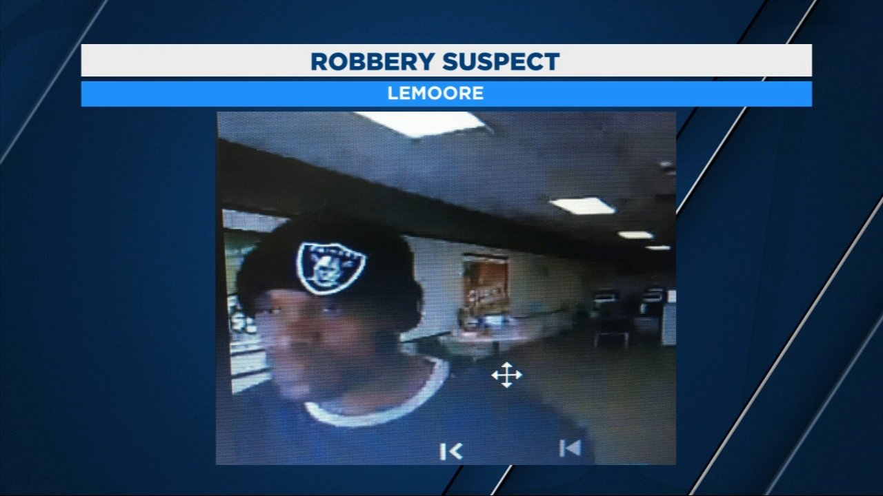 Lemoore Police need help identifying a man accused of robbing a check cashing business on Thursday afternoon on North Lemoore near Cinnamon Drive.
