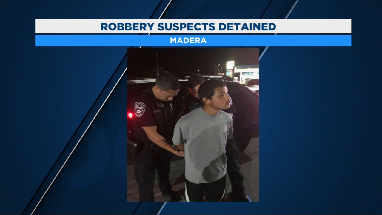 Madera Police have detained a man and two teenagers accused of robbery.
